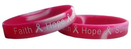 Cancer Rubber Bracelets Spreading Social Awareness