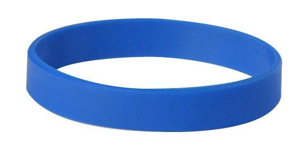 silicon dual debossed hyproline silicone profile layer bands