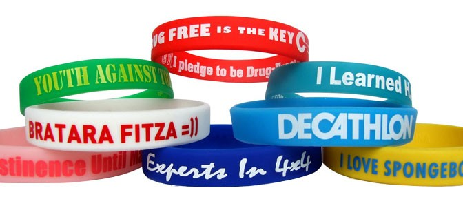Custom Printed Silicone Wristband The Best Promotional Products