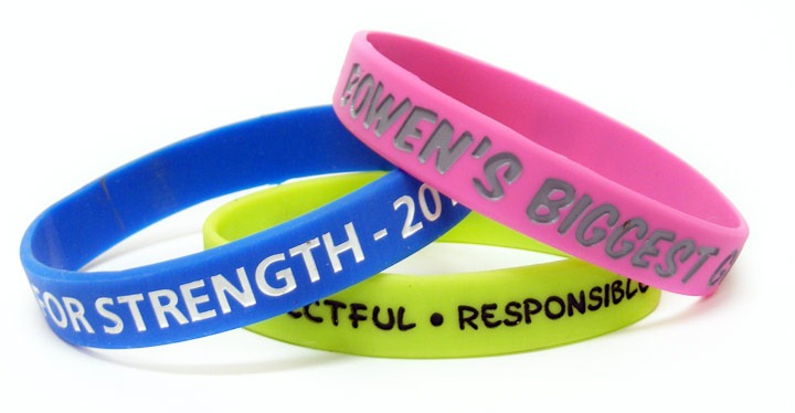 Screen Printed Wristbands Serves Right For All Purposes