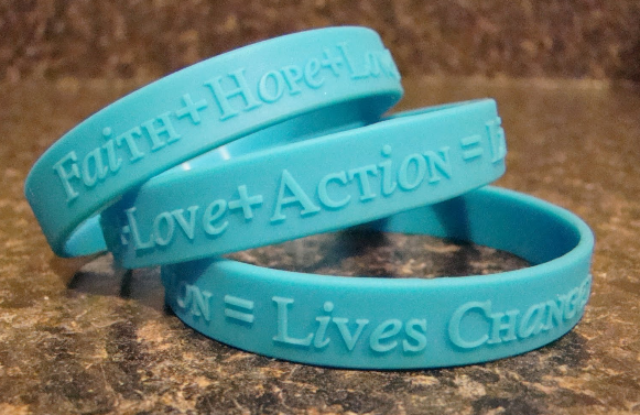 Adoption Awareness Wristbands Make Your Own Silicone Bracelets