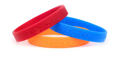 ½ Inch Wristbands