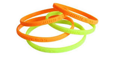 ¼ Inch Wristbands